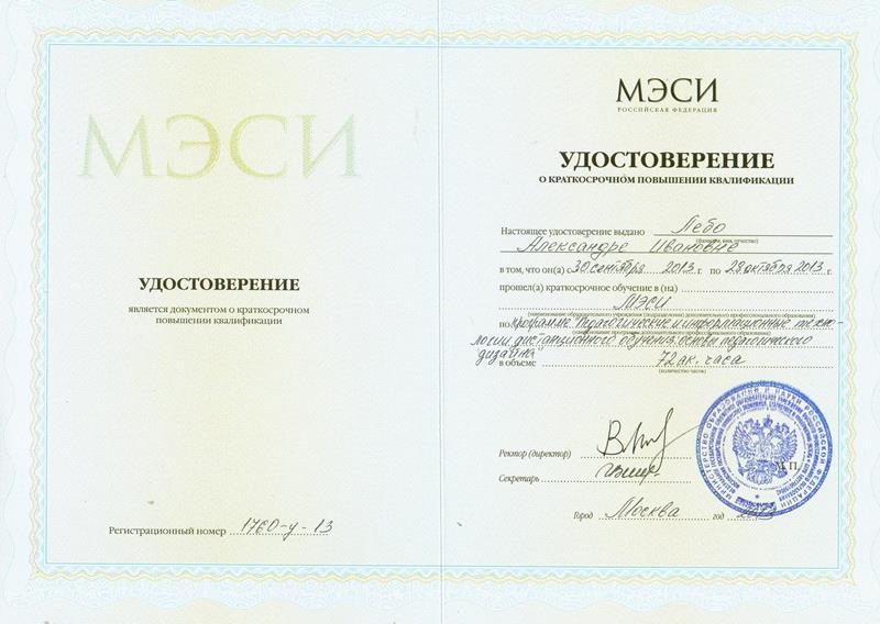 ПК МЭСИ-2013